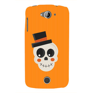IFasho Designer Back Case Cover For Acer Liquid Z530 :: Acer Liquid Zade Z530S (Skeleton Medan Scary Wall Stickers Scary Stories To Tell In The Dark)
