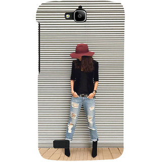 Ifasho Designer Back Case Cover For Huawei Honor Holly (Girl Alexandria Egypt Girl Year Ring)