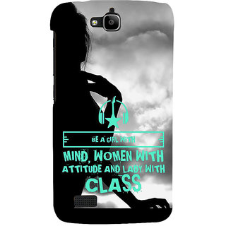 Ifasho Designer Back Case Cover For Huawei Honor Holly (Analogy  Continuing Education)
