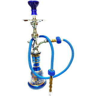 Sona 50 CM BLUE EGYPTIAN HOOKAH ONE HOSE