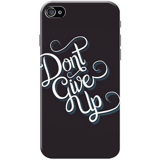HACHI Don't Give Up Mobile Cover for   4