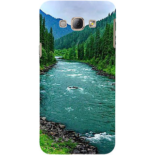 Ifasho Designer Back Case Cover For Samsung Galaxy A8 (2015) :: Samsung Galaxy A8 Duos (2015) :: Samsung Galaxy A8 A800F A800Y (Designer Kurtis  Girly Earphones)