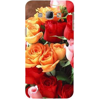 Ifasho Designer Back Case Cover For Samsung Galaxy A8 (2015) :: Samsung Galaxy A8 Duos (2015) :: Samsung Galaxy A8 A800F A800Y (Rose Garden Different Colours Rose)