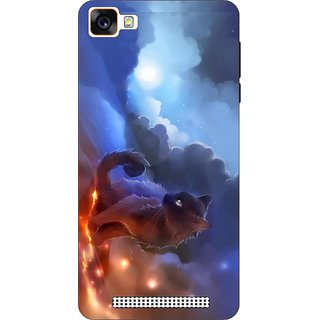 FotoAdda Printed Back Cover Case for Reliance LyfWind 7