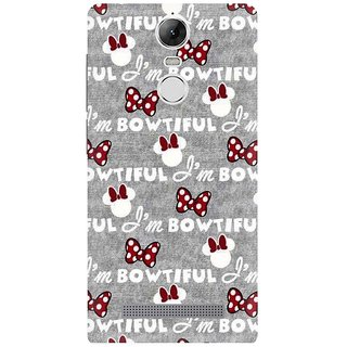 Lenovo K5 Note Printed Back Cover By CareFone