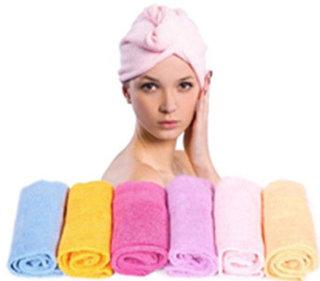 Hair Wrap After Bath