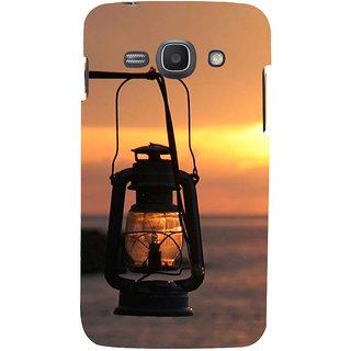 Ifasho Designer Back Case Cover For Samsung Galaxy Ace 3 :: Samsung Galaxy Ace 3 S7272 Duos  :: Samsung Galaxy Ace 3 3G S7270 :: Samsung Galaxy Ace 3 Lte S7275 (Sun Set Dark Light Deadly Boat Steamer)