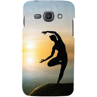 Ifasho Designer Back Case Cover For Samsung Galaxy Ace 3 :: Samsung Galaxy Ace 3 S7272 Duos  :: Samsung Galaxy Ace 3 3G S7270 :: Samsung Galaxy Ace 3 Lte S7275 (Yoga Caracas Venezuela Yoga Outfit For Women)