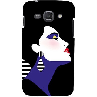 Ifasho Designer Back Case Cover For Samsung Galaxy Ace 3 :: Samsung Galaxy Ace 3 S7272 Duos  :: Samsung Galaxy Ace 3 3G S7270 :: Samsung Galaxy Ace 3 Lte S7275 (Cartoon Girl Malika Shanghai China Defeat)