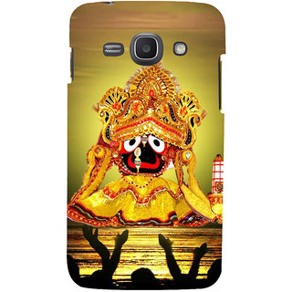 Ifasho Designer Back Case Cover For Samsung Galaxy Ace 3 :: Samsung Galaxy Ace 3 S7272 Duos  :: Samsung Galaxy Ace 3 3G S7270 :: Samsung Galaxy Ace 3 Lte S7275 (Lord Jagannath Vishnu Wall Hanging China Vishnu Nagar)