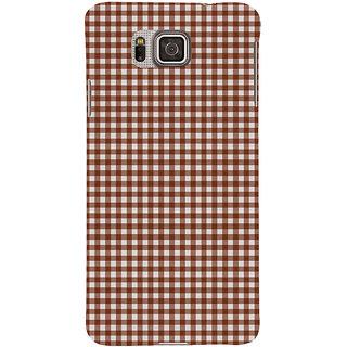 Ifasho Designer Back Case Cover For Samsung Galaxy Alpha :: Samsung Galaxy Alpha S801 ::  Samsung Galaxy Alpha G850F G850T G850M G850Fq G850Y G850A G850W G8508S :: Samsung Galaxy Alfa (White Pages Nfl.Com Bibcam)