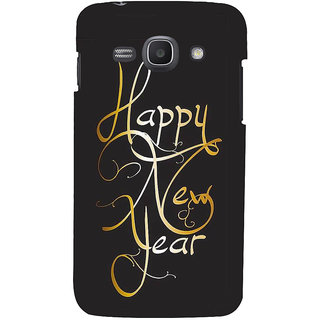 Ifasho Designer Back Case Cover For Samsung Galaxy Ace 3 :: Samsung Galaxy Ace 3 S7272 Duos  :: Samsung Galaxy Ace 3 3G S7270 :: Samsung Galaxy Ace 3 Lte S7275 (Happy New Year Dear Wish You)