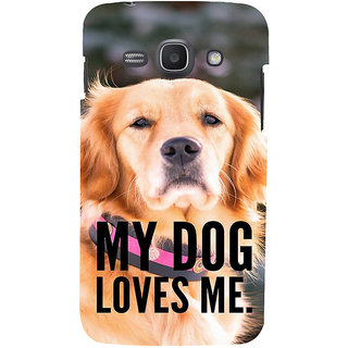 Ifasho Designer Back Case Cover For Samsung Galaxy Ace 3 :: Samsung Galaxy Ace 3 S7272 Duos  :: Samsung Galaxy Ace 3 3G S7270 :: Samsung Galaxy Ace 3 Lte S7275 (Kutta Puppy Pooch Bitch)