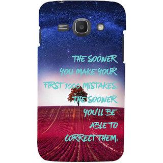 Ifasho Designer Back Case Cover For Samsung Galaxy Ace 3 :: Samsung Galaxy Ace 3 S7272 Duos  :: Samsung Galaxy Ace 3 3G S7270 :: Samsung Galaxy Ace 3 Lte S7275 (Sky Stars Trees Correction)