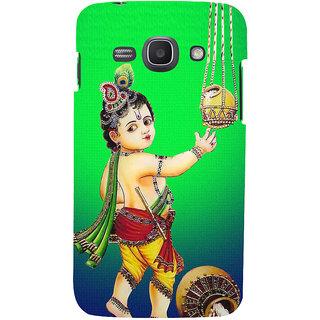 Ifasho Designer Back Case Cover For Samsung Galaxy Ace 3 :: Samsung Galaxy Ace 3 S7272 Duos  :: Samsung Galaxy Ace 3 3G S7270 :: Samsung Galaxy Ace 3 Lte S7275 (Krishna Qingdao China Vishnu Puranam)