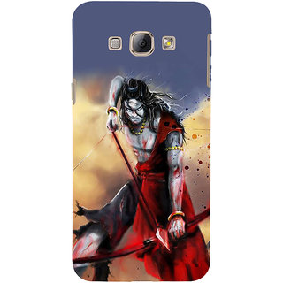 Ifasho Designer Back Case Cover For Samsung Galaxy A8 (2015) :: Samsung Galaxy A8 Duos (2015) :: Samsung Galaxy A8 A800F A800Y (Rama Ramachandra Guha Ramayana For Children Rama Salwar Suit Sets)