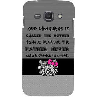 Ifasho Designer Back Case Cover For Samsung Galaxy Ace 3 :: Samsung Galaxy Ace 3 S7272 Duos  :: Samsung Galaxy Ace 3 3G S7270 :: Samsung Galaxy Ace 3 Lte S7275 (Poor Dark Cat Papa Mouthshut)