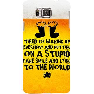 Ifasho Designer Back Case Cover For Samsung Galaxy Alpha :: Samsung Galaxy Alpha S801 ::  Samsung Galaxy Alpha G850F G850T G850M G850Fq G850Y G850A G850W G8508S :: Samsung Galaxy Alfa (Correlation  Education Center)