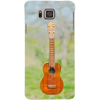 Ifasho Designer Back Case Cover For Samsung Galaxy Alpha :: Samsung Galaxy Alpha S801 ::  Samsung Galaxy Alpha G850F G850T G850M G850Fq G850Y G850A G850W G8508S :: Samsung Galaxy Alfa (Guitar Bogor Indonesia Samsung Music 2)