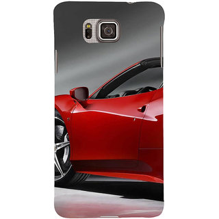 Ifasho Designer Back Case Cover For Samsung Galaxy Alpha :: Samsung Galaxy Alpha S801 ::  Samsung Galaxy Alpha G850F G850T G850M G850Fq G850Y G850A G850W G8508S :: Samsung Galaxy Alfa (Aging Art Being Doctor Prescription Well Car Sales Lead)