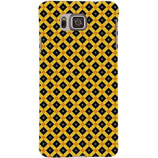 Ifasho Designer Back Case Cover For Samsung Galaxy Alpha :: Samsung Galaxy Alpha S801 ::  Samsung Galaxy Alpha G850F G850T G850M G850Fq G850Y G850A G850W G8508S :: Samsung Galaxy Alfa (Motherless Craiglist D Line Modem)