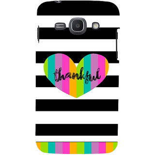 Ifasho Designer Back Case Cover For Samsung Galaxy Ace 3 :: Samsung Galaxy Ace 3 S7272 Duos  :: Samsung Galaxy Ace 3 3G S7270 :: Samsung Galaxy Ace 3 Lte S7275 (Bound Oblidged Cheerful Satisfactory Greatful)