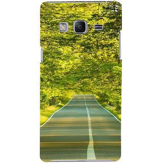Ifasho Designer Back Case Cover For Samsung Galaxy Z3 Tizen :: Samsung Z3 Corporate Edition (Road Scenary Tianjin China Ludhiana)