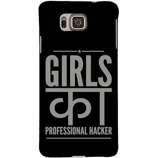 Ifasho Designer Back Case Cover For Samsung Galaxy Alpha :: Samsung Galaxy Alpha S801 ::  Samsung Galaxy Alpha G850F G850T G850M G850Fq G850Y G850A G850W G8508S :: Samsung Galaxy Alfa (Relationship  Guys Dating Girls)