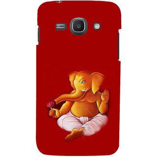 Ifasho Designer Back Case Cover For Samsung Galaxy Ace 3 :: Samsung Galaxy Ace 3 S7272 Duos  :: Samsung Galaxy Ace 3 3G S7270 :: Samsung Galaxy Ace 3 Lte S7275 (Ganesh Madras 7 Spiritual Laws Of Success Deepak Chopra Wardha)