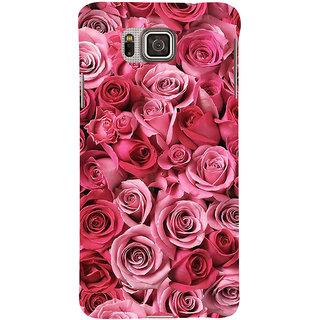 Ifasho Designer Back Case Cover For Samsung Galaxy Alpha :: Samsung Galaxy Alpha S801 ::  Samsung Galaxy Alpha G850F G850T G850M G850Fq G850Y G850A G850W G8508S :: Samsung Galaxy Alfa (Jarul Heavy  Rose Lipstick Best Establishment Society Celebrity)