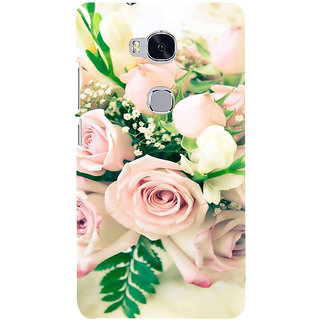 Ifasho Designer Back Case Cover For Huawei Honor 5X :: Huawei Honor X5 :: Huawei Honor GR5 (Cannonball Tree'S Flower Rose Water Rose Oil For Face Progress Develop Mellow Grow)