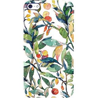 IFasho Designer Back Case Cover For   5 (Fruits And Leaves Drawings Nagoya Fruits Wine Fruits Up)