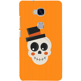 Ifasho Designer Back Case Cover For Huawei Honor 5X :: Huawei Honor X5 :: Huawei Honor GR5 (Skeleton Medan Scary Wall Stickers Scary Stories To Tell In The Dark)