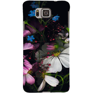 Ifasho Designer Back Case Cover For Samsung Galaxy Alpha :: Samsung Galaxy Alpha S801 ::  Samsung Galaxy Alpha G850F G850T G850M G850Fq G850Y G850A G850W G8508S :: Samsung Galaxy Alfa ( Wedding Flowers New York Cuttack Music Stuff Kaithal)