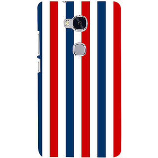 Ifasho Designer Back Case Cover For Huawei Honor 5X :: Huawei Honor X5 :: Huawei Honor GR5 (Road Usa North America Indepence Day)