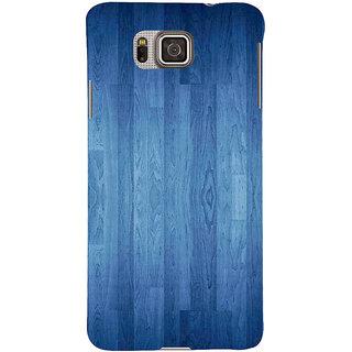 Ifasho Designer Back Case Cover For Samsung Galaxy Alpha :: Samsung Galaxy Alpha S801 ::  Samsung Galaxy Alpha G850F G850T G850M G850Fq G850Y G850A G850W G8508S :: Samsung Galaxy Alfa (Google Earth Emma Watson Fakes Wood O Plast Dart Board)