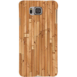 Ifasho Designer Back Case Cover For Samsung Galaxy Alpha :: Samsung Galaxy Alpha S801 ::  Samsung Galaxy Alpha G850F G850T G850M G850Fq G850Y G850A G850W G8508S :: Samsung Galaxy Alfa (Gemini Mail Wood Toys)