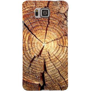 Ifasho Designer Back Case Cover For Samsung Galaxy Alpha :: Samsung Galaxy Alpha S801 ::  Samsung Galaxy Alpha G850F G850T G850M G850Fq G850Y G850A G850W G8508S :: Samsung Galaxy Alfa (Ls Magazine Sears V Wood Wall Clock)