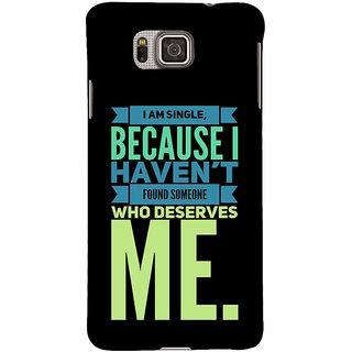 Ifasho Designer Back Case Cover For Samsung Galaxy Alpha :: Samsung Galaxy Alpha S801 ::  Samsung Galaxy Alpha G850F G850T G850M G850Fq G850Y G850A G850W G8508S :: Samsung Galaxy Alfa (Affiliation  Entertainment Gossip)