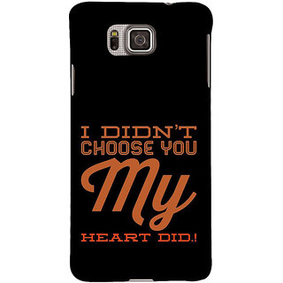 Ifasho Designer Back Case Cover For Samsung Galaxy Alpha :: Samsung Galaxy Alpha S801 ::  Samsung Galaxy Alpha G850F G850T G850M G850Fq G850Y G850A G850W G8508S :: Samsung Galaxy Alfa (Correspondence  Lesbian Dating)