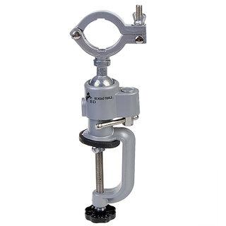 Works Mini Clamp-on Bench Vise Grinder Holder Electric Drill Stande