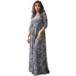 SAJJ Women's Cotton Full Length Kurti