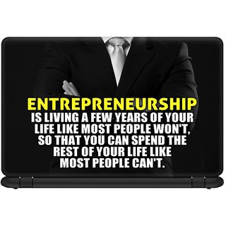 Buy Design Lab Entrepreneurship Laptop Skin For 15 6 Inches Laptop