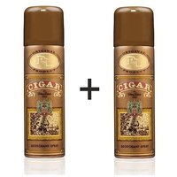 Remy Latour Cigar Deo 200 Ml For Men Set Of 2