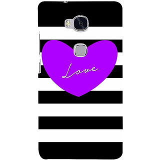 Ifasho Designer Back Case Cover For Huawei Honor 5X :: Huawei Honor X5 :: Huawei Honor GR5 (Love Design Love And Love Only Love Express Love Key Chains For Couples)