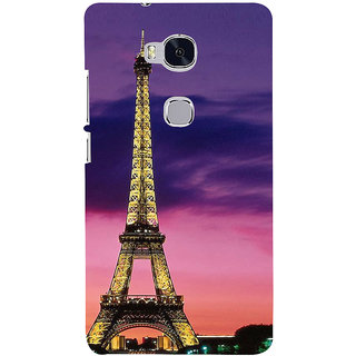 Ifasho Designer Back Case Cover For Huawei Honor 5X :: Huawei Honor X5 :: Huawei Honor GR5 (Eifel Tower Lahore Pakistan Tirupati)