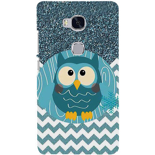 Ifasho Designer Back Case Cover For Huawei Honor 5X :: Huawei Honor X5 :: Huawei Honor GR5 (Burrowing Owl Peak Cartoon )