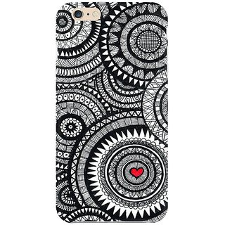 Apple IPhone 6/6s Back Cover, Indian Doodle Art Mobile Cover For IPhone  6/6s -By Design Lab, Designer Printed IPhone 6/6s Back Cover, [Matte  Finish,