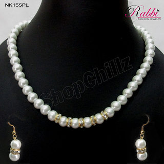 Simply Pearl Necklace set NK15SPL