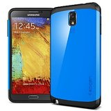 Spigen Slim Armor Case For Samsung Galaxy Note 3 N9000 - Blue Color